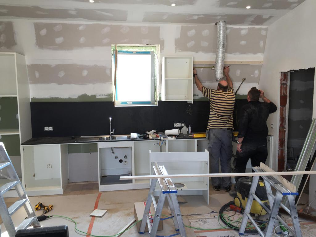 - Kitchen installation